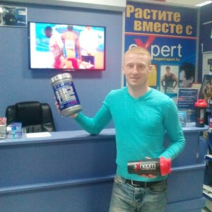 Евгений Залесский - МСМК и рекордсмен РБ по легкой атлетике (спортивная ходьба)