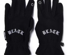 Перчатки со вставками для сенсорных телефонов из зимней коллекции ZIQ & YONI в ADEPT store