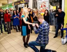 Минчанин сделал предложение руки и сердца в «Московско-Венском»