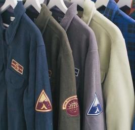 Теплые флисовые рубашки в ADEPT store