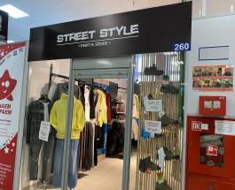 Магазин мужской одежды STREET STYLE