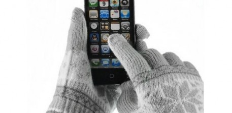 Скидка на перчатки для сенсорных телефонов