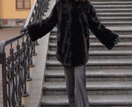 Куртка из норки со скидкой 25%