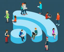 Бесплатный wi-fi в нашем торговом центре!